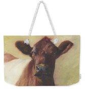 Cow Portrait IIi - Pregnant Pause Weekender Tote Bag