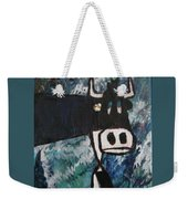 Cow With A Pearl Earring Weekender Tote Bag
