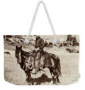 Cowboy, 1887 Weekender Tote Bag