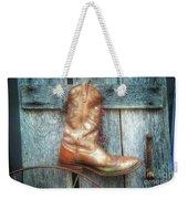 Cowboy Boot Rack Weekender Tote Bag