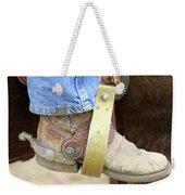 Cowboy Boot Weekender Tote Bag