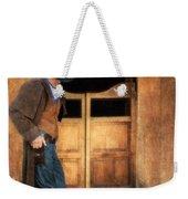 Cowboy By Saloon Doors Weekender Tote Bag