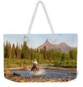 Cowboy Country Weekender Tote Bag