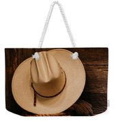 Cowboy Hat And Gear Weekender Tote Bag