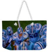 Cowboy Huddle Weekender Tote Bag