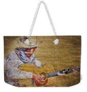Cowboy Poet Weekender Tote Bag