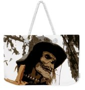 Cowboy Skeleton Weekender Tote Bag