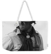 Cowboy Turning Weekender Tote Bag