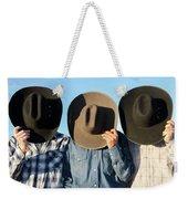 Cowboys Anonymous Weekender Tote Bag