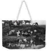 Cowboys Bathing Weekender Tote Bag