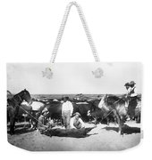 Cowboys Branding Cattle C. 1900 Weekender Tote Bag
