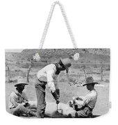 Cowboys: Branding Cattle Weekender Tote Bag