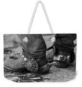 Cowboy's Spurs Weekender Tote Bag by Carol Walker
