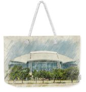 Cowboys Stadium Weekender Tote Bag