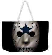 Cowboys War Mask 3 Weekender Tote Bag