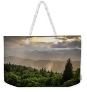 Cowee Mountains Sunset 2 Weekender Tote Bag