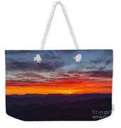 Cowee Sunset Weekender Tote Bag