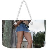 Cowgirl 019 Weekender Tote Bag