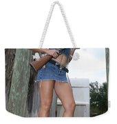 Cowgirl 020 Weekender Tote Bag