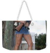 Cowgirl 021 Weekender Tote Bag