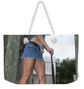 Cowgirl 023 Weekender Tote Bag