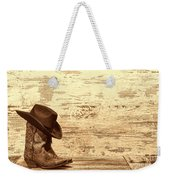 Cowgirl Boots Weekender Tote Bag