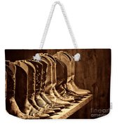 Cowgirl Boots Collection Weekender Tote Bag