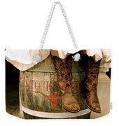 Cowgirl Boots Weekender Tote Bag