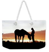 Cowgirl Companion Weekender Tote Bag