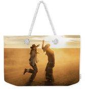 Cowgirl Dance Weekender Tote Bag