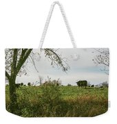 Cows And Farm In Michigan  Weekender Tote Bag