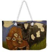 Cow's Weekender Tote Bag