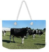 Cows In A Row Weekender Tote Bag