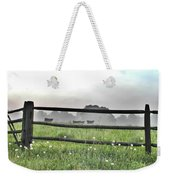 Cows In Field Weekender Tote Bag