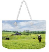 Cows In The Country Weekender Tote Bag