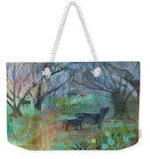 Cows In The Olive Grove Weekender Tote Bag