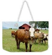 Cows8944 Weekender Tote Bag