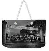 Cowtown Weekender Tote Bag