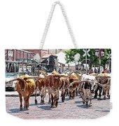 Cowtown Stockyards Weekender Tote Bag
