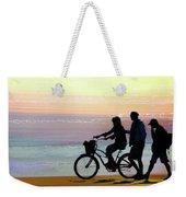 Cox Bay Bike Weekender Tote Bag