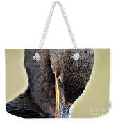 Coy Cormorant Weekender Tote Bag