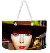 Coy Cowgirl Weekender Tote Bag