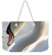 Coy Swan Weekender Tote Bag