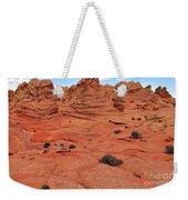Coyote Buttes Pink Landscape Weekender Tote Bag