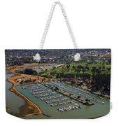 Coyote Point Marina San Francisco Bay Sfo California Weekender Tote Bag