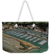 Coyote Point Yacht Club In San Mateo, California Weekender Tote Bag