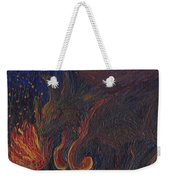 Coyote Steals Fire Detail Weekender Tote Bag