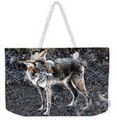 Coyote Waits Weekender Tote Bag