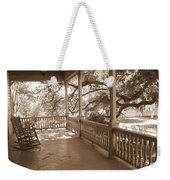 Cozy Southern Porch Weekender Tote Bag by Carol Groenen