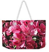 Crab Apple Blossoms 04302015-1 Weekender Tote Bag